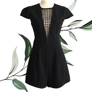 FINDERS KEEPERS Tailored Short Playsuit Romper
